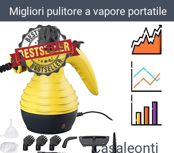 Migliori pulitore a vapore portatile